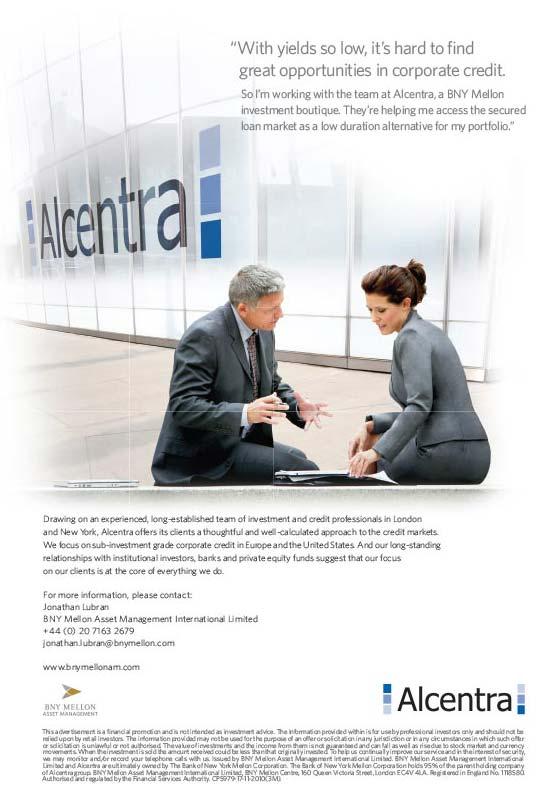 Alcentra Print Ad
