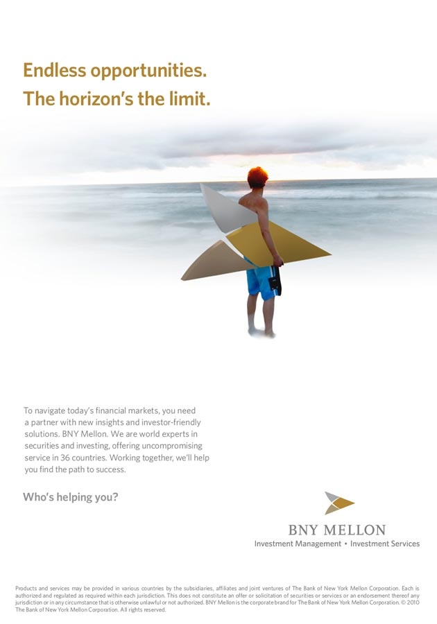 BNY Mellon Print Ad