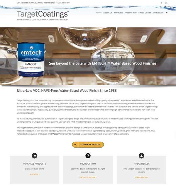 Target Coatings Homepage